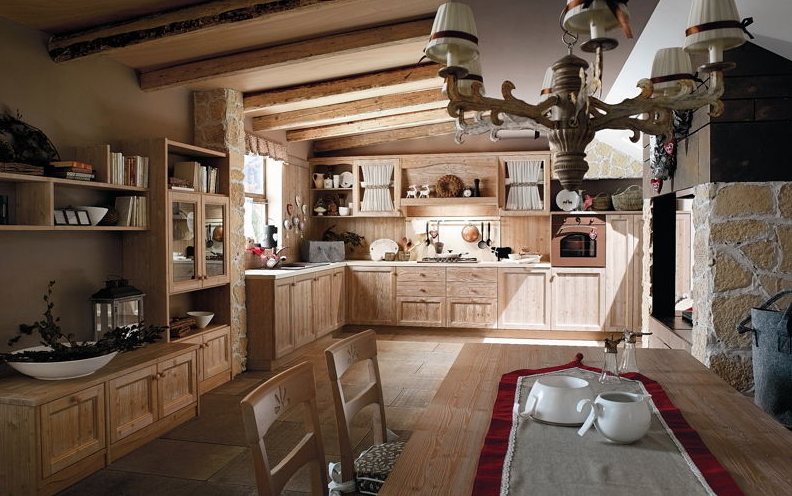 Cucina-country-Callesella-Everiday-fieno